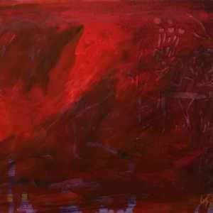 Rood schilderij